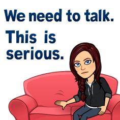 talk serious